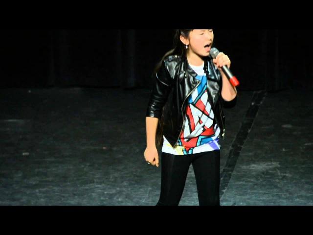 Детская Новая Волна 2014 (полуфинал, 2 день) - Полина Богусевич - Dreamgirls