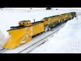 Невероятно мощные поезда-снегоходы. (Железяки №21)