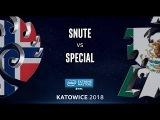 StarCraft II - Snute Z vs. SpeCial T - LB Semi - B3 - IEM Katowice 2018