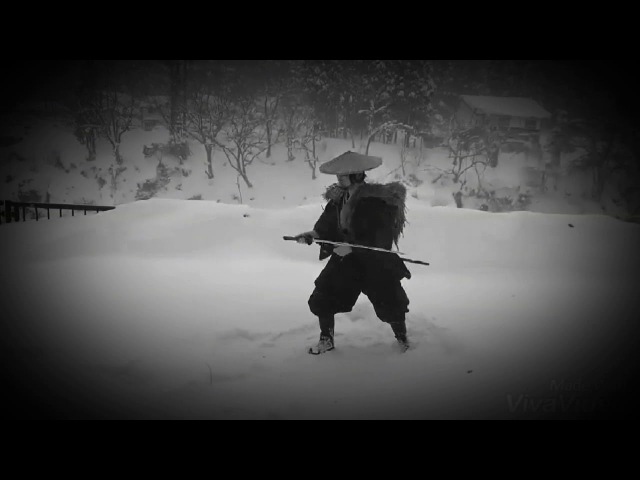 天心流兵法 雪中演武~TENSHINRYU winter exercises~