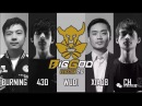 Big God (BurNIng, Ferrari_430, xiao8) First Debut Match vs LGD - DAC 2018