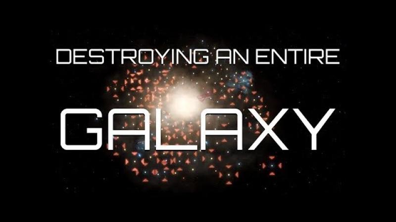 Stellaris 2.0 - Destroying an ENTIRE Galaxy - Exterminatus