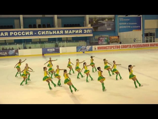 Санрайз 2 СПБ Чемпионат России по синхронному катанию 1 сп разряд ПП 7