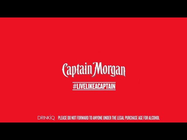 Live Like a Captain Lady Leshurr | Captain Morgan