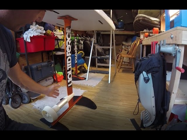 DIY Electric Hydrofoil Part 9 - Got the Foil