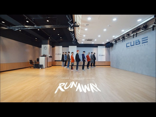 PENTAGON(펜타곤) - 'RUNAWAY' (Choreography Practice Video)