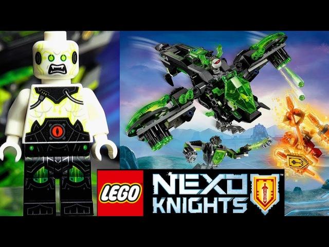 LEGO Nexo Knights 72003 Неистовый бомбардировщик Обзор Новинки мультика Нексо Найтс 5 сезон
