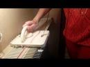 Частичное вязание на ЛК-150, 1 часть