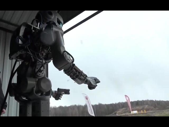 Skynet, the beginning. Russian Robot F.E.D.O.R. coub