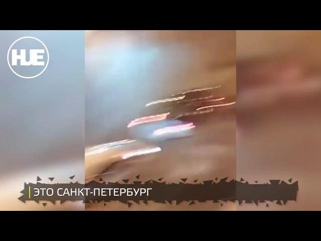 В Санкт-Петербурге пьяный мужчина расстрелял машину с людьми после ДТП