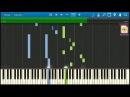 Филипп Киркоров О любви OST Экипаж НОТЫ MIDI КАРАОКЕ PIANO COVER