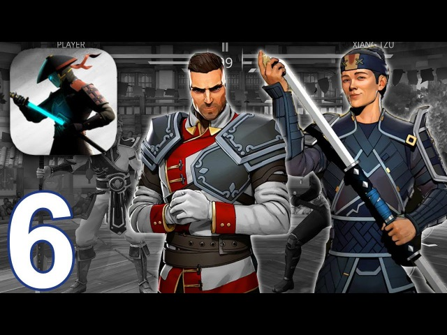 SHADOW FIGHT 3 Gameplay Walkthrough Part 6 - Chapter 2 Golden Demon Xiang BAttles (iOS Android)