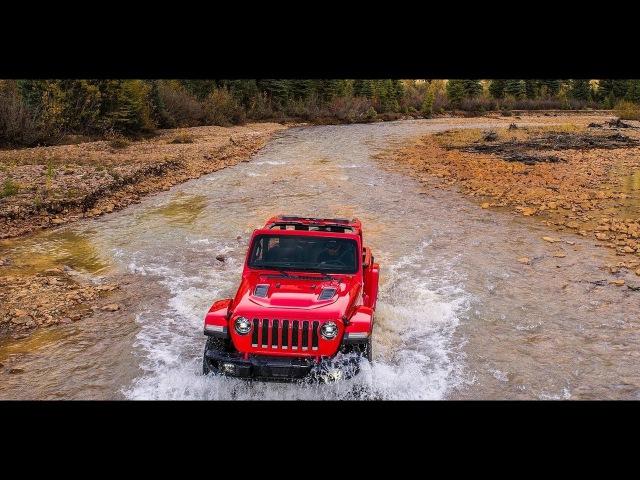 2018 Jeep Wrangler Rubicon drive scene
