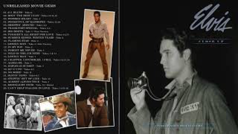 ELVIS PRESLEY - CLOSE UP UNRELEASED MOVIE GEMS