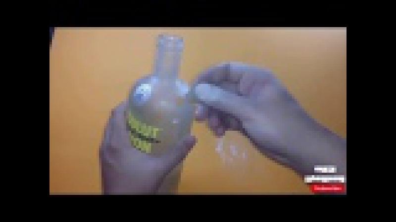Как сделать кальян с помощью бутылки из под ВОДКИ?
