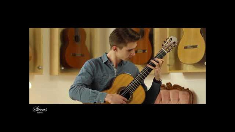 Marcel Wollny plays from the Cello Suite No. I D-Dur BWV 1007 - Gigue on a 2011 Fritz Ober