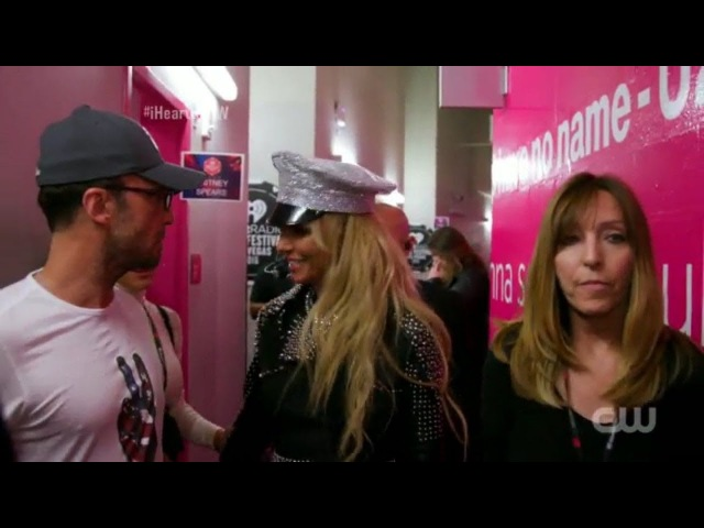 Britney Spears new angle bits from iHeart Radio 2016