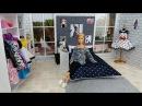 DIY Doll House Bedroom for Barbie Дом для Барби своими руками Casa de de muñecas