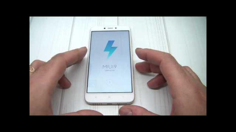 Xiaomi Redmi 4x Удаление Mi Аккаунта