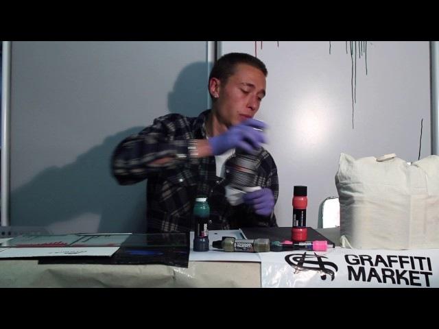 Маркер Grog Squeezer 25мм INK - видеообзор Graffitimarket