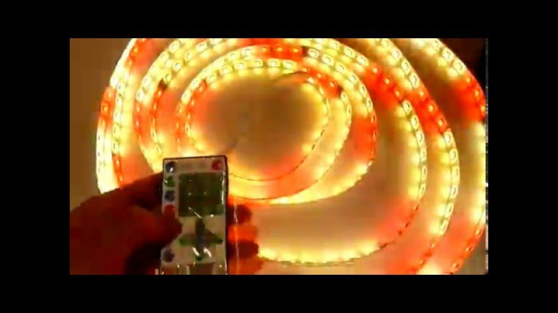 Светодиодная лента 5050 SMD-60-100 IP65 RGB Бегущая волна