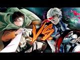 [PersBattle] Леви vs Арима   Аниме   Атака Титанов vs Токийский Гуль