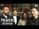 Bastille - Bright Premiere Red Carpet Interview