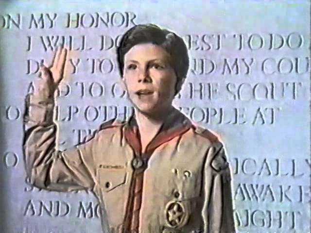 80's Ads: Boy Scouts Christian Slater