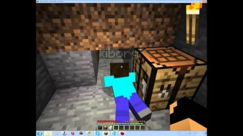 Выживание в двоём в Minecraft PE 0.13.0 (добытчики) 11
