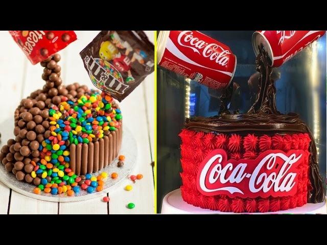 Top 20 Chocolate Cake Decorating Ideas Cake Style 2017 - Fondant, Cupcake Satisfying Cake Videos