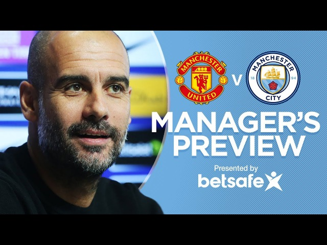 DAVID SILVA...HE'S GOING TO PLAY | Manchester Derby Press Conference | 2017/18