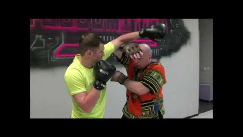 Уроки Panantukan RAPT от А Плаксина защиты от боксерских ударов типа хук