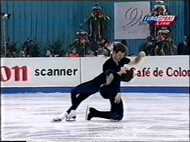 Maria Petrova Alexei Tikhonov RUS - 1999 European Championships Gala
