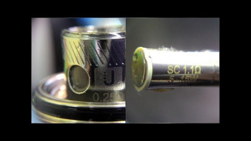 18 Перемотка испарителей Uwell Bullet (для Crown II / SE 1) и Eleaf IC/SC (для iCare)