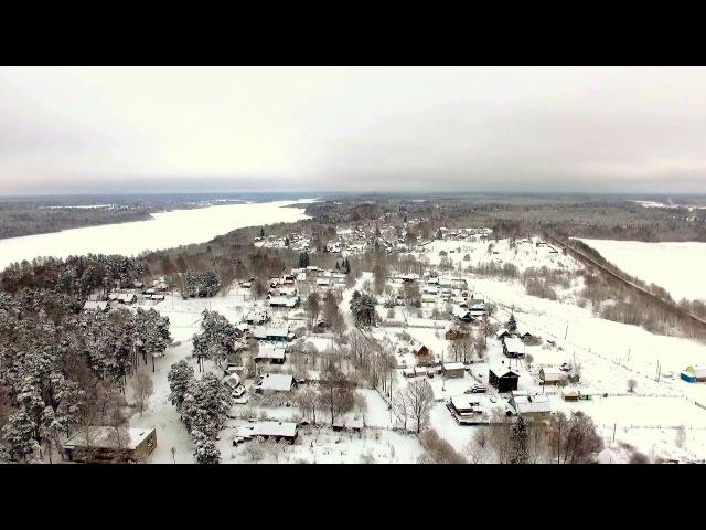 Деревня Мерево, зимний пейзаж)) КРАСОТИЩА ТО КАКАЯ
