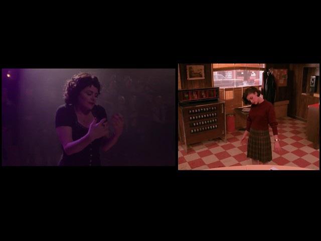 Audrey's Dance [S3E16] vs [S1E2] - Twin Peaks