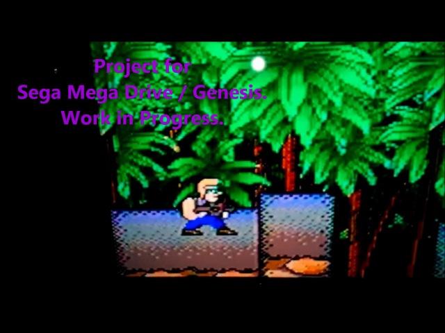 WIP Project C for Sega Genesis