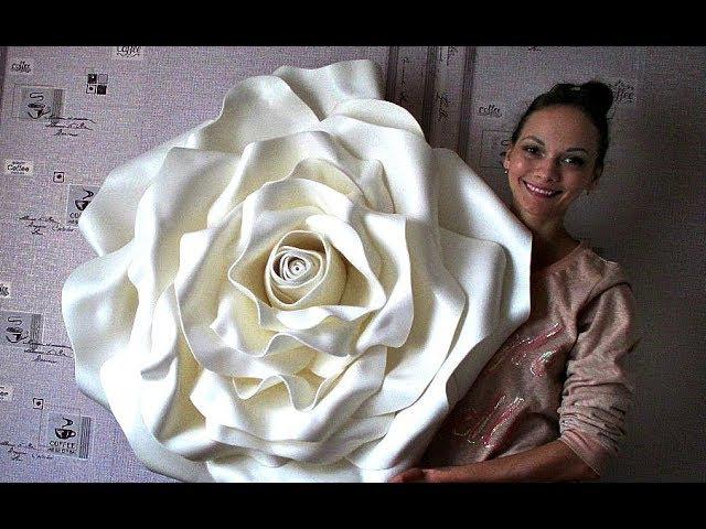 Роза из изолона. БЫТЬ или НЕ БЫТЬ? / Rose from the izolon. To be or not to be?