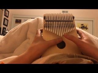 Fairytale from Shrek on the Thumb Piano (Kalimba)