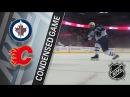 Winnipeg Jets vs Calgary Flames January 20, 2018 HIGHLIGHTS HD