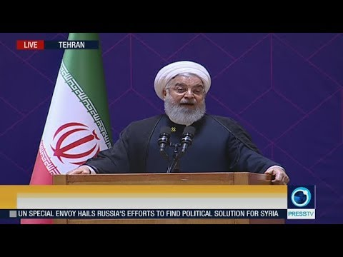 Live: Iran's pres. Rouhani addresses meeting of high-ranking state directors