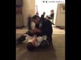 Homemade jiu-jitsu lessons