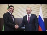 Türkmenistana sapar edýän Putiniň Berdimuhamedowa orden gowşurjagy habar berildi