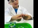 Дайте детям спички и пластилин⚠️🔥 Как вы думаете, что они сделают? Юные химики сделают кристаллическую решетку🌐😂🔗