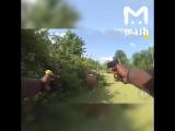 Полицейский застрелил голого неадеквата в Америке