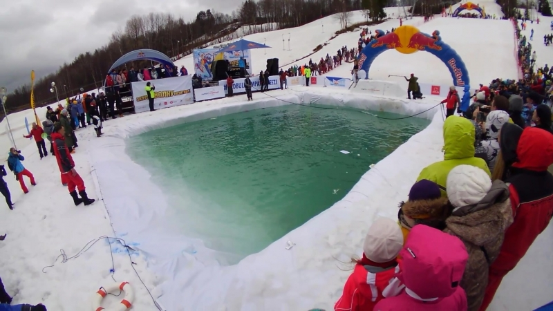 Red Bull Jump and freeze 2018 - тур де франс