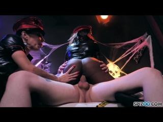 Daya knight, jessica jaymes (halloweiner) [blowjob, busty, cowgirl, cumshot, doggystyle, facial, gonzo, threesome, 1080p]