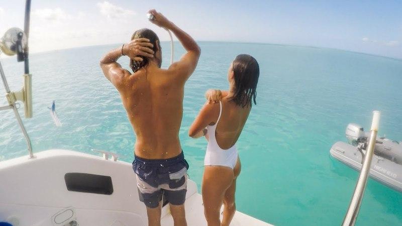 Days Underwater ft. Shark vs Lobster and Marlin! (Sailing La Vagabonde) Ep. 143