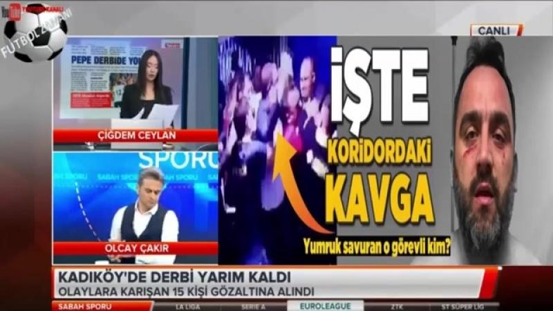 Yarıda Kalan Fenerbahçe-Beşiktaş maçını Çiğdem Ceylan ve Olcay Çakır yorumları