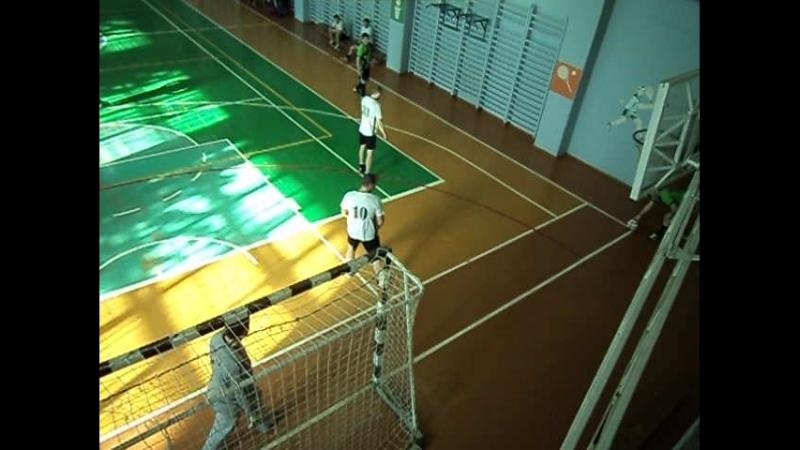 Чемпионат города Коврова по мини футболу Район - Импульс 1 тайм 18.03.18